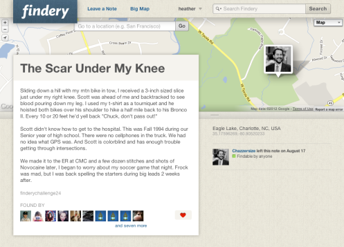 The Scar Under My Knee