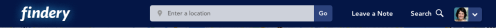 Findery Header Screenshot