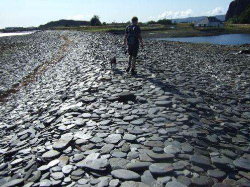 stone-skimming