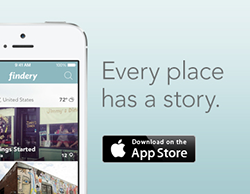 Findery iPhone app now available in Australia!