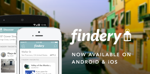 Findery: Now available on Android and iOS