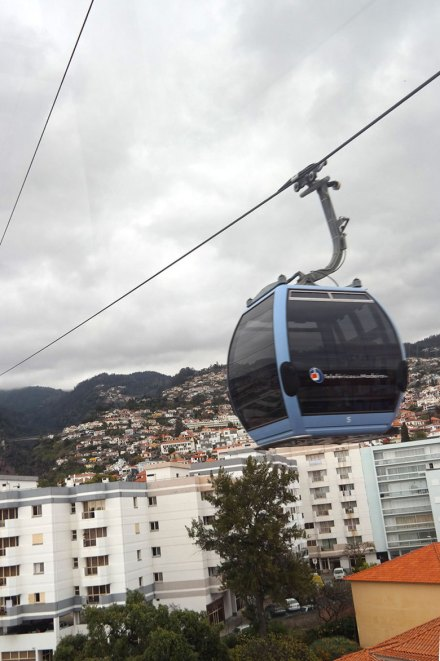 Cable car in Funchal, Madeira. Photo by Katja Presnal.