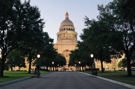 Texas State Capitol. Photo by Katja Presnal.