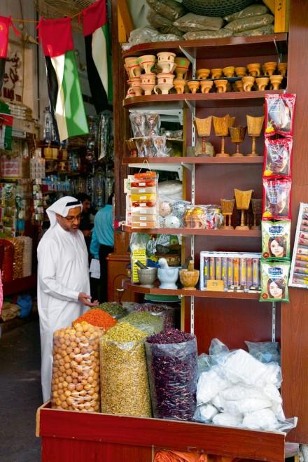 Souk spices. Dubai Emirate. EAU. Persian Gulf. Arabia.