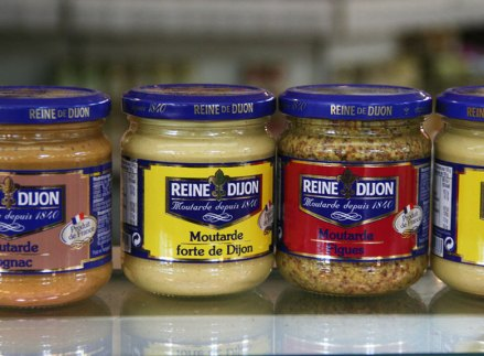 Education on travels can be as easy as learning about Dijon mustard from Dijon, France. Photo by Katja Presnal.