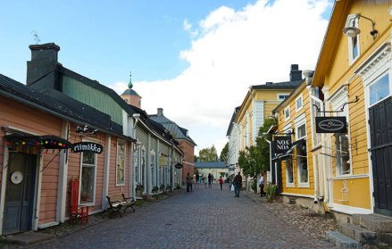 Porvoo old town in Finland. Photo by Katja Presnal.
