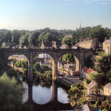 Fall in love with market and spa town Knaresborough in Yorkshire