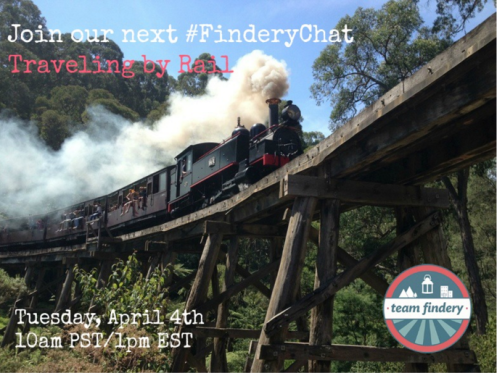 FinderyChat about Train Travel