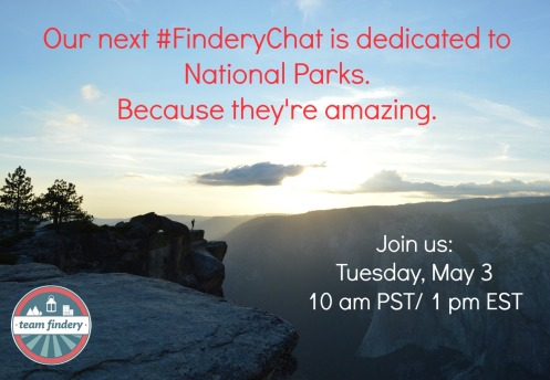 National Park #FinderyChat Invitation