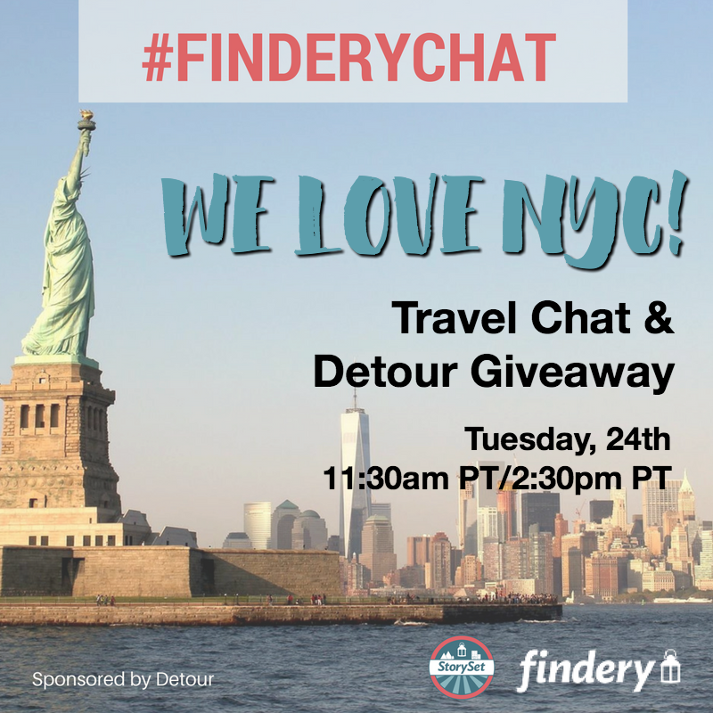 We Love New York City #FinderyChat with Detour